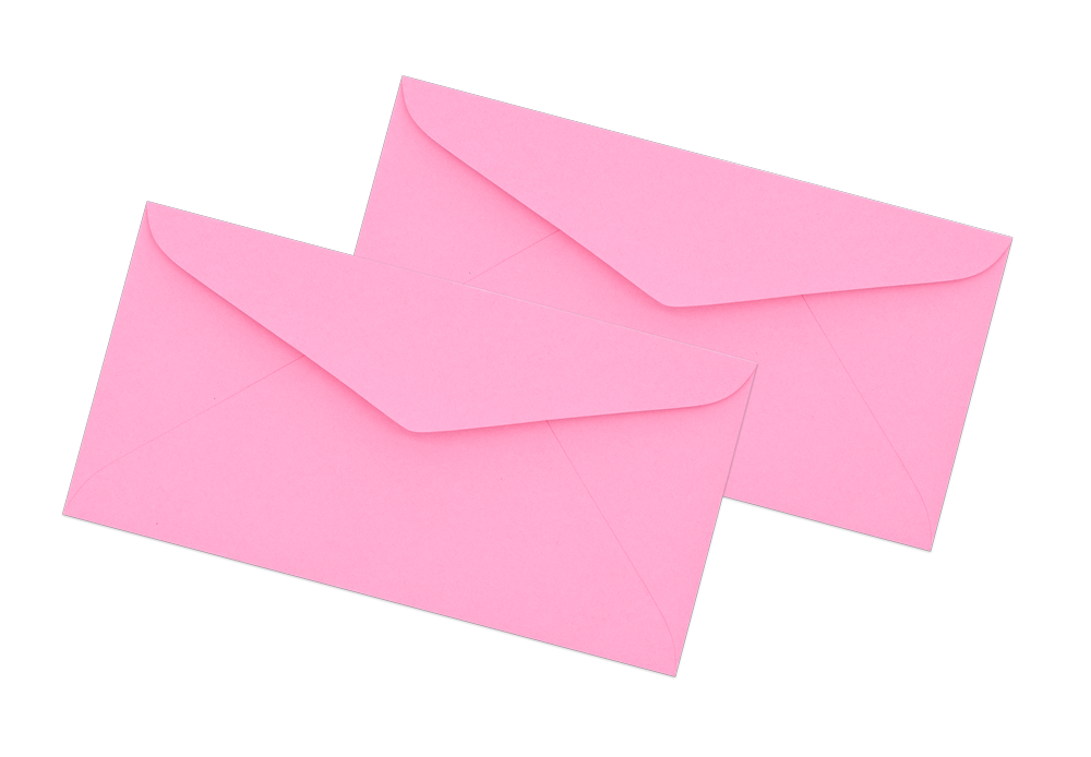 Pink Envelope No. 6 1/2