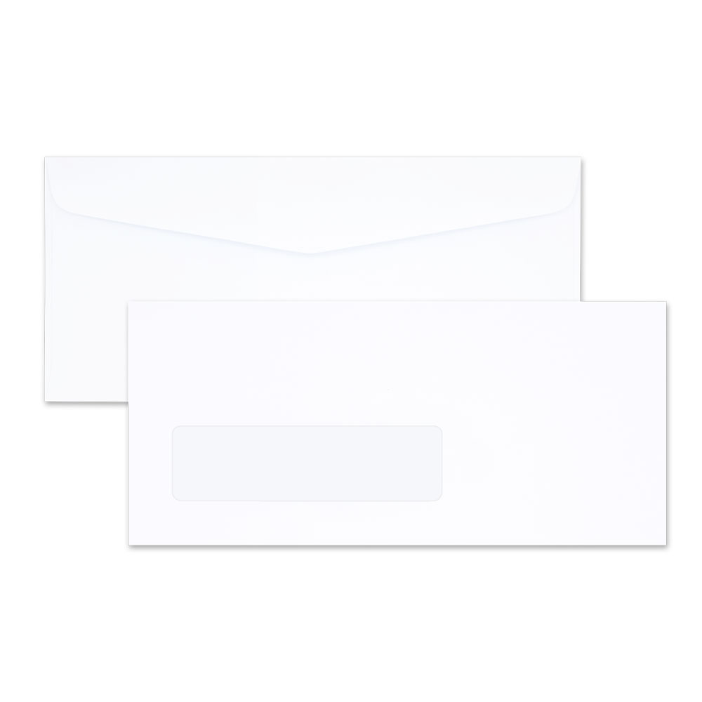 White Window Envelope No. 9/125 AA (window 32 x 117 mm.)