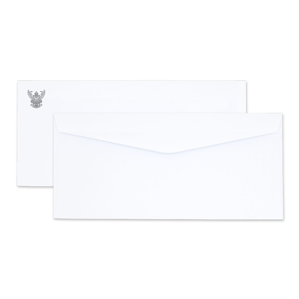 White Government Envelope No. 9/125 AA