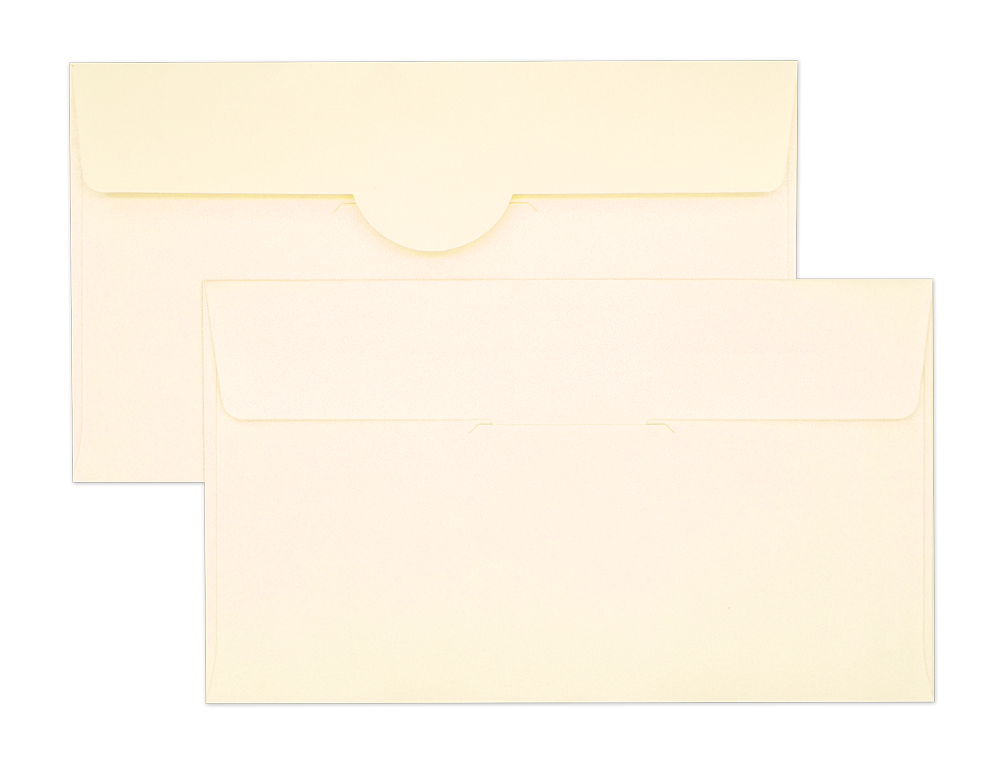 Pearl Metallic Envelope No. 4 1/2 x 7 3/4 Ivory