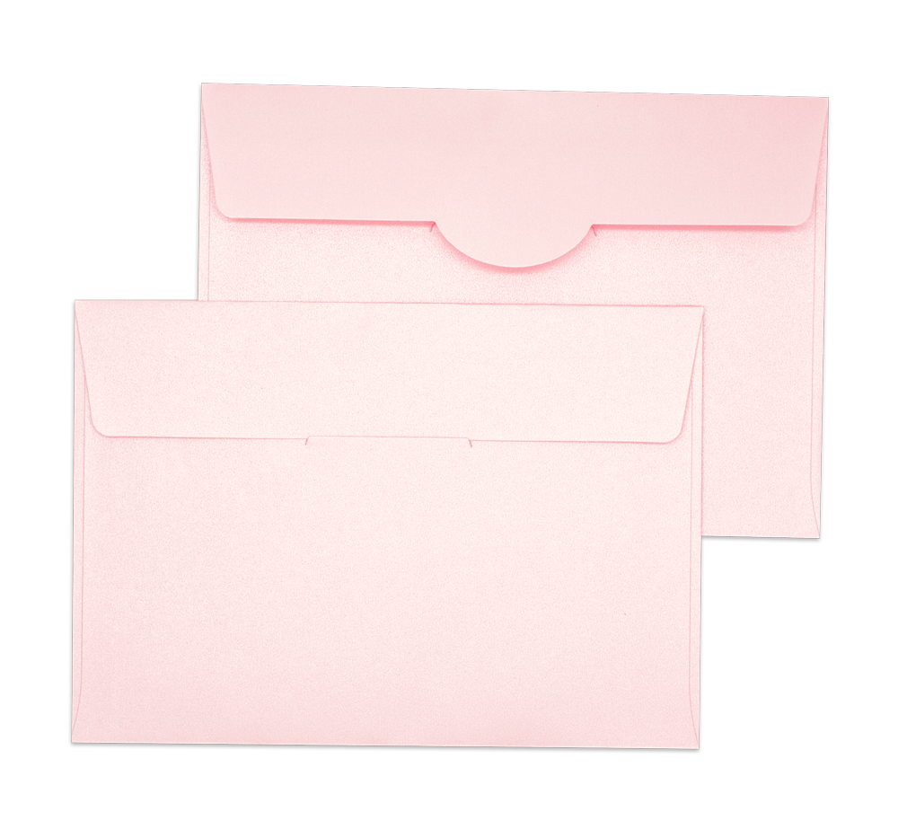 Pearl Metallic Envelope No.C6 Pink