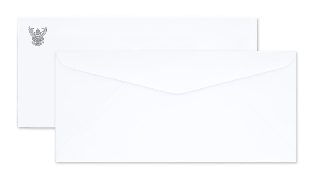 White Government Envelope No. 9/125