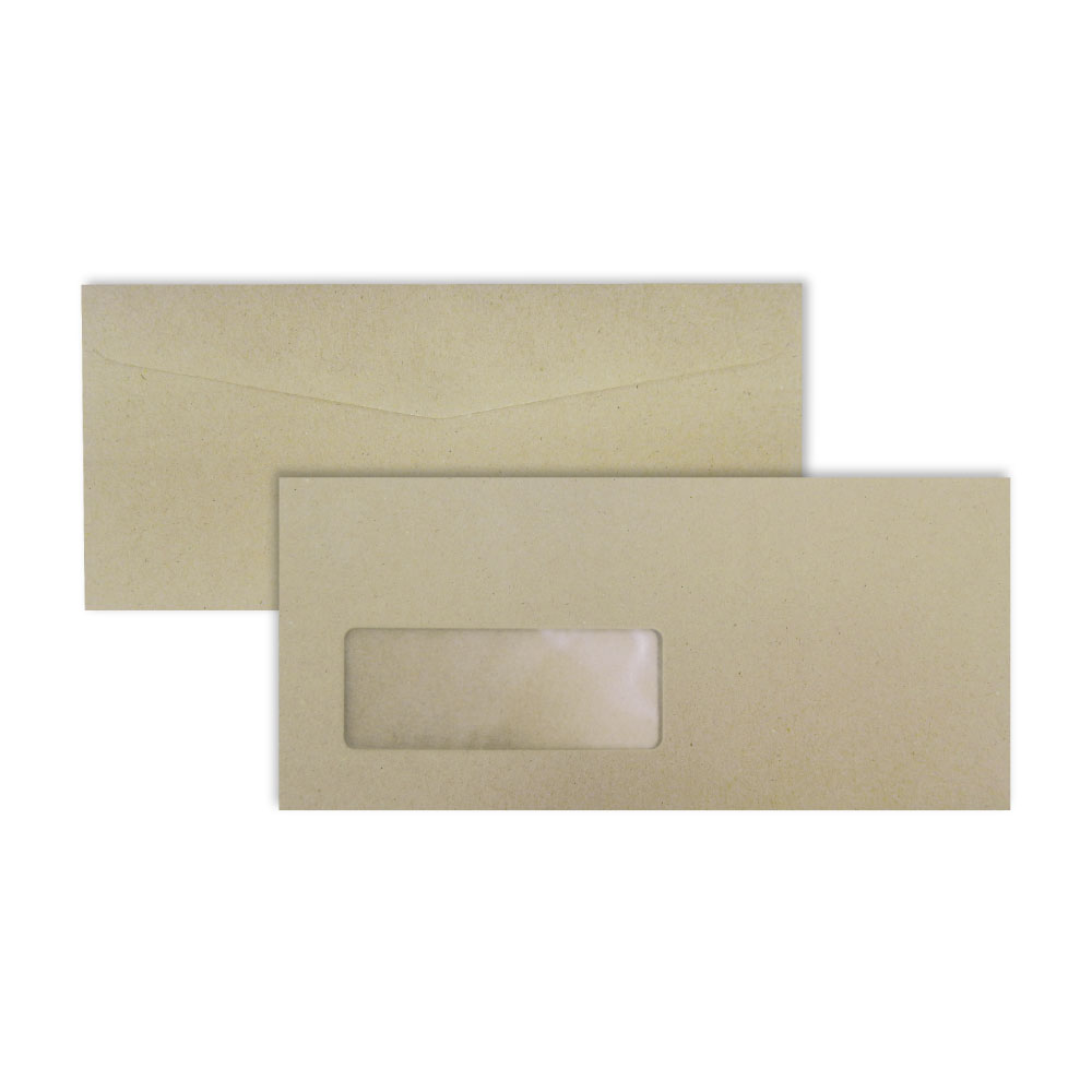 Brown Window Envelope No. 9 BA (window 40 x 106 mm.)