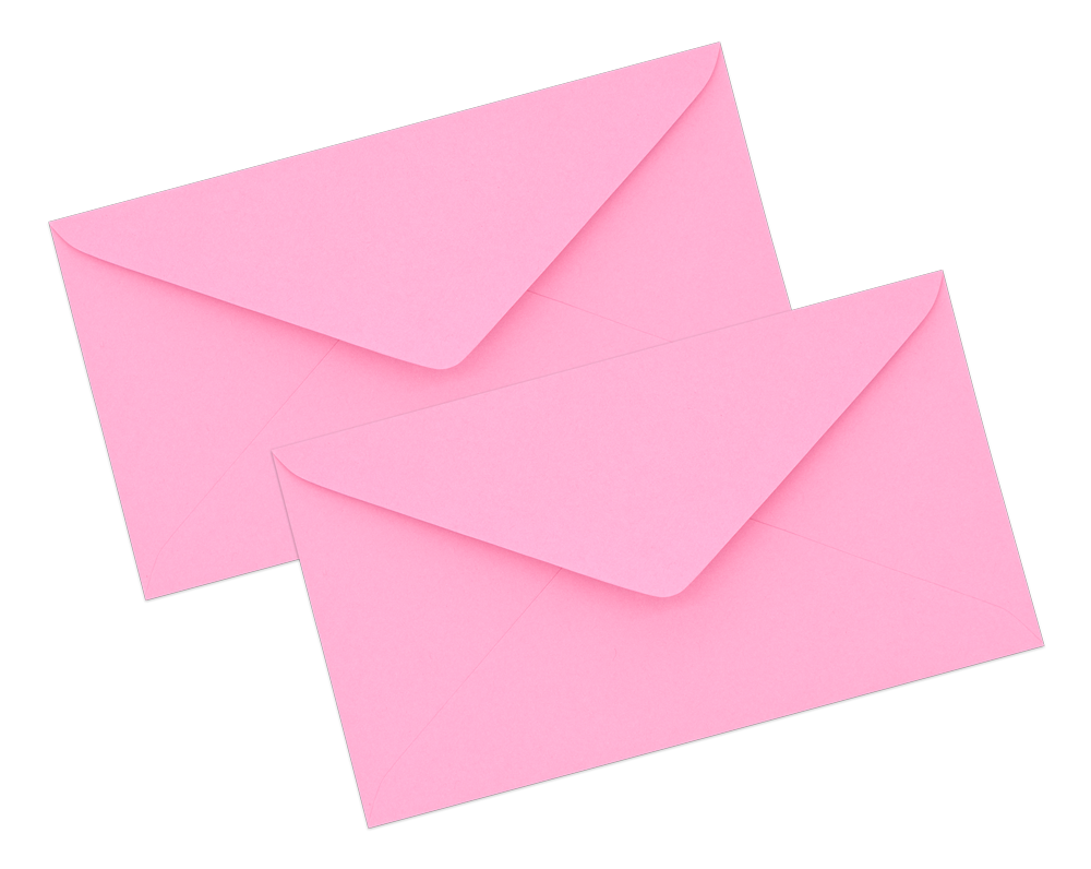 Pink Envelope No. 7 1/4