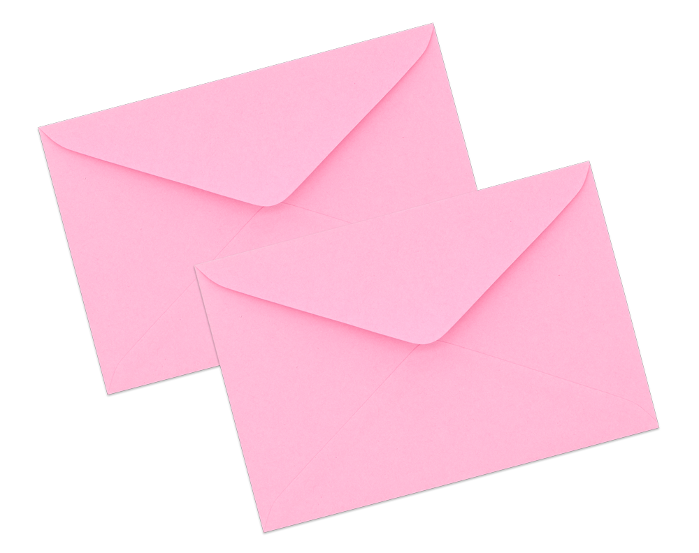 Pink Envelope No. 3 1/2