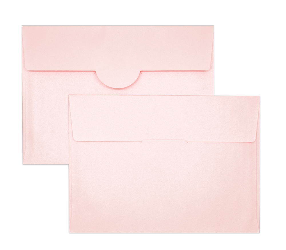 Pearl Metallic Envelope No. 8 1/2 Pink
