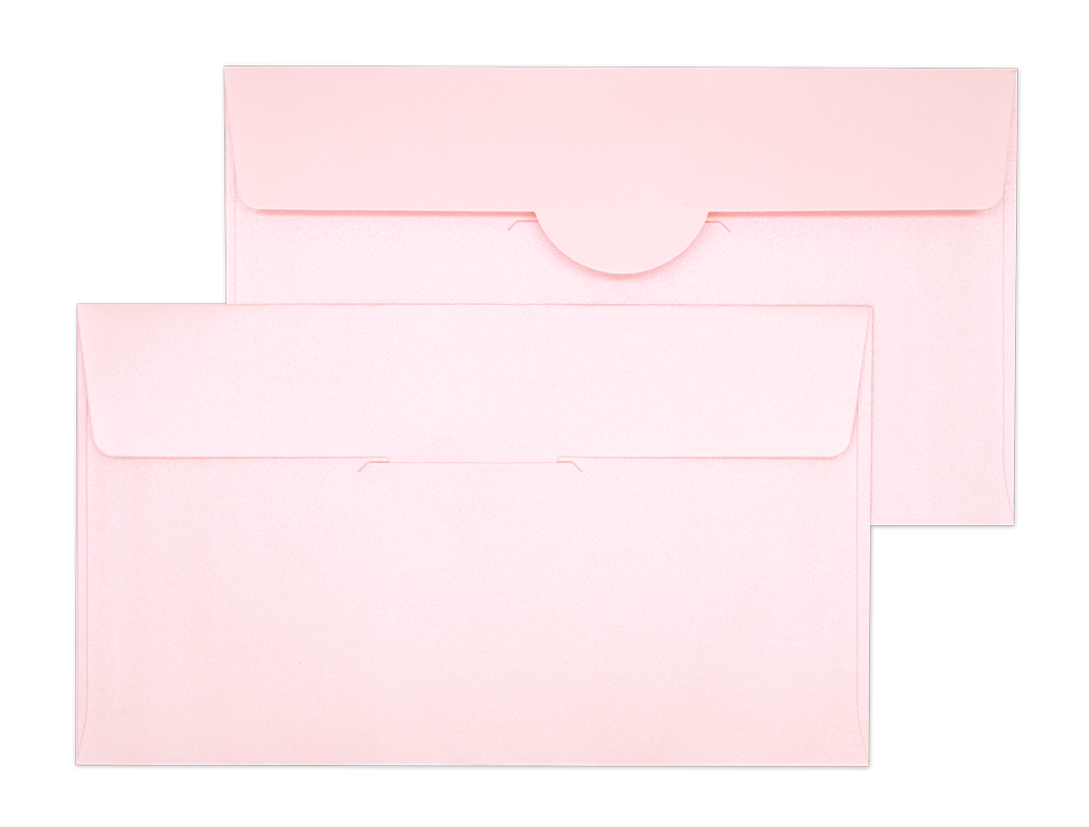 Pearl Metallic Envelope No. 4 1/2 x 7 3/4 Pink