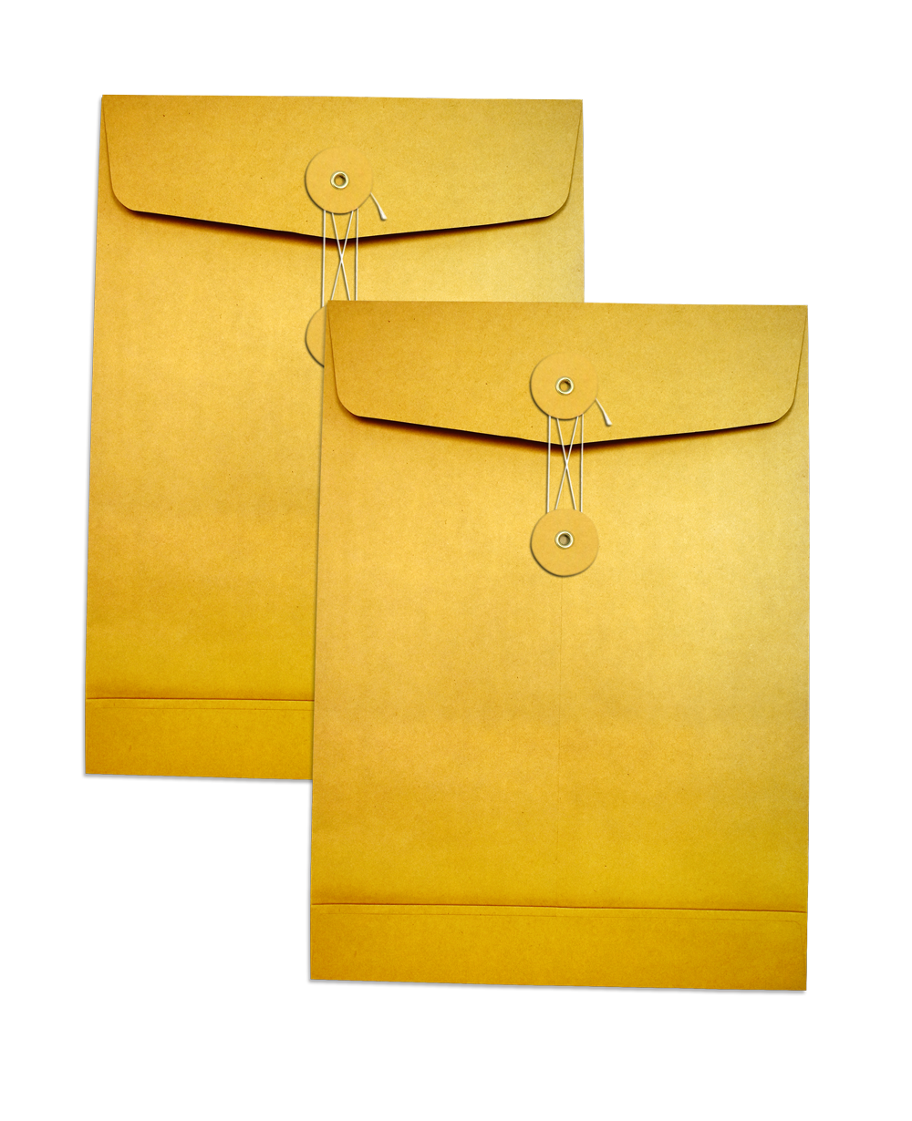 KA Enlarge Envelope No. C4 Eyelet & String